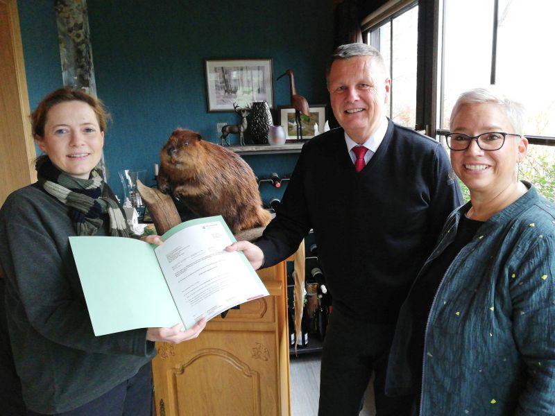 SGD Nord fördert Artenschutzprojekt für den Biber