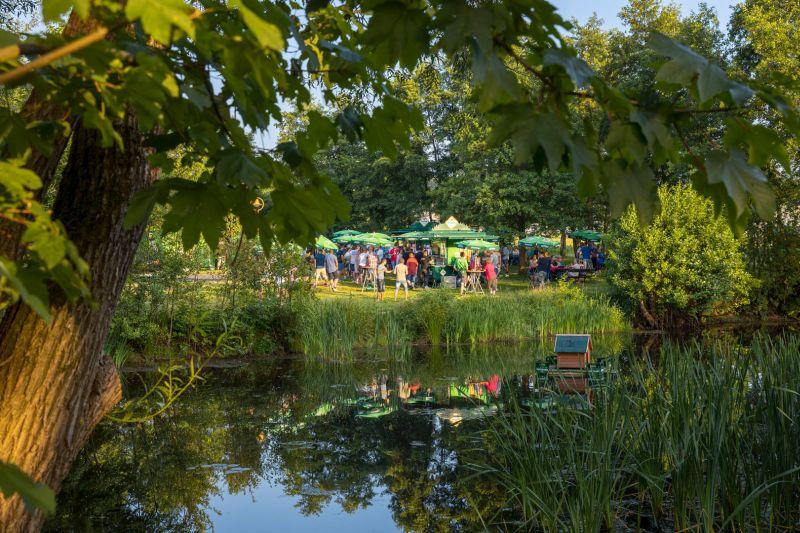 Einweihungsparty im Bier-Park. Fotos: Westerwaldbrauerei