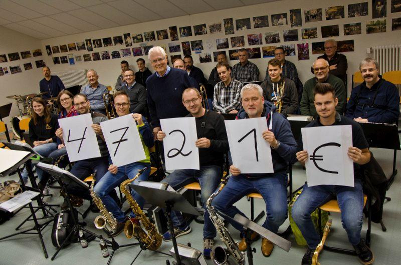 Big Band Boden fördert erneut ehrenamtliche Hospizarbeit