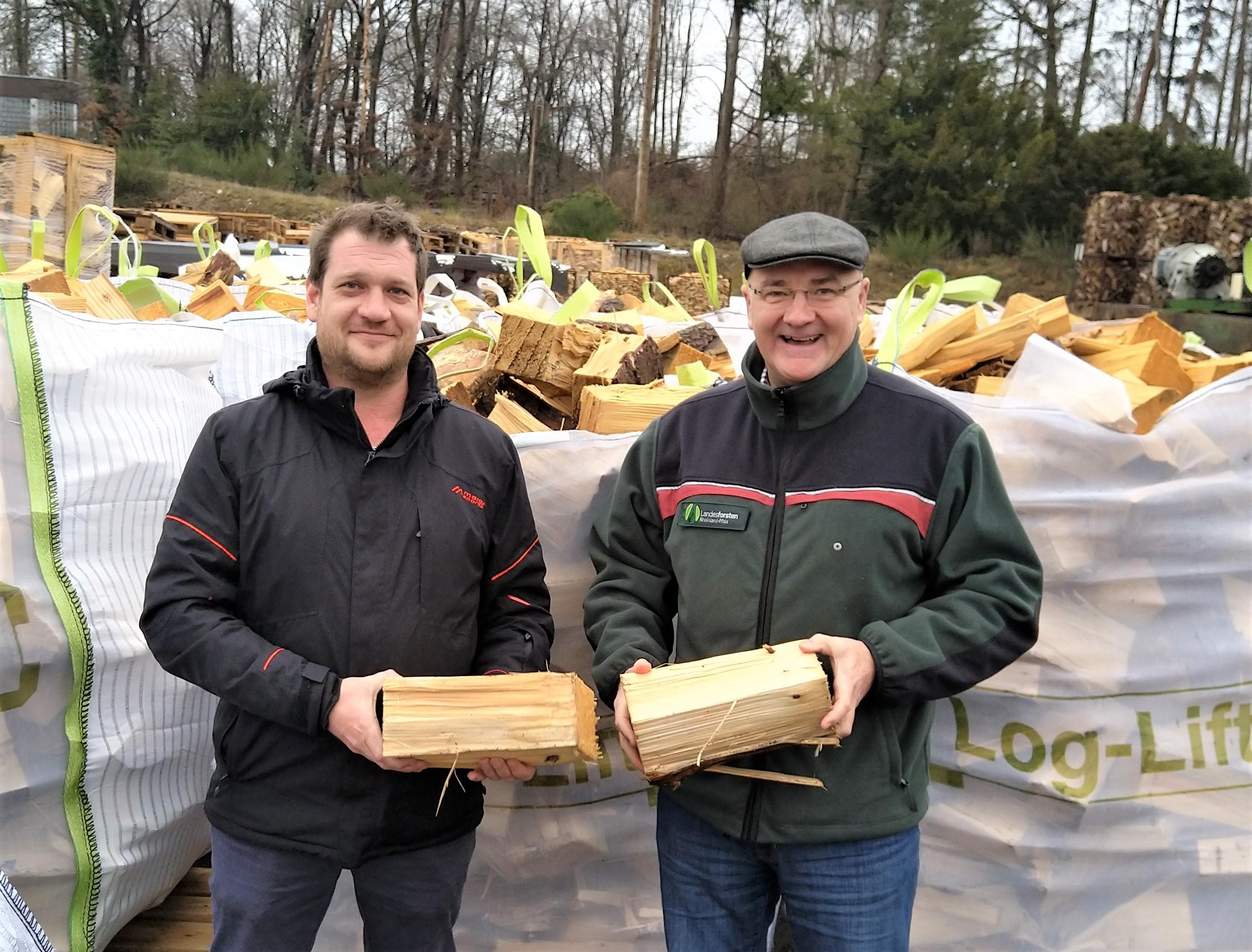 Forstamt Dierdorf: Fichtenbrennholz als Alternative