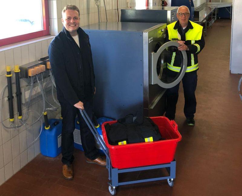 VG Rennerod investiert weiter in Sicherheit der Feuerwehrkräfte