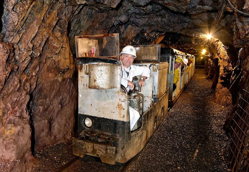 Grube Bindweide: Glückauf! Die Grubenbahn fährt wieder ein