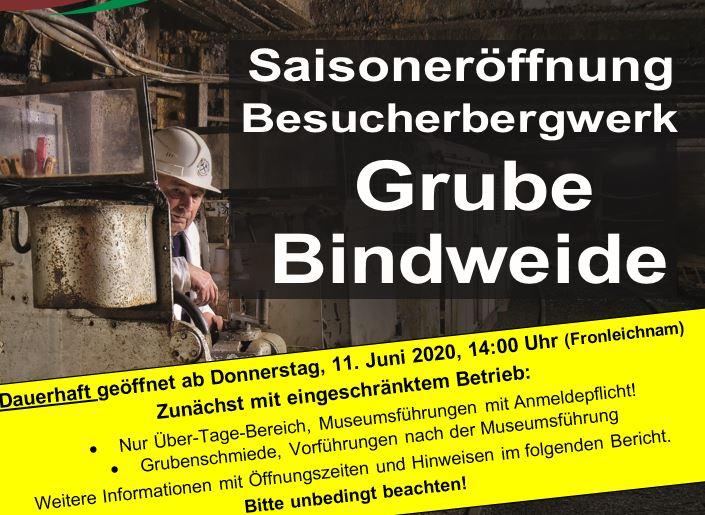 Dauerhafter und regelmäßiger Betrieb in der Grube Bindweide