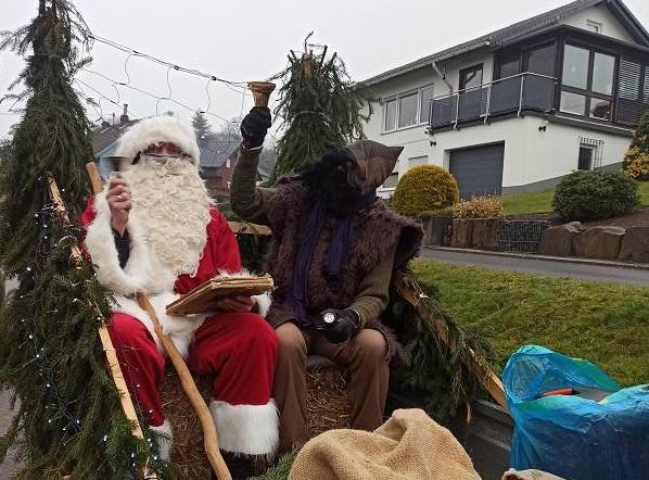 Ein voller Erfolg für den Nikolaus in Bitzen