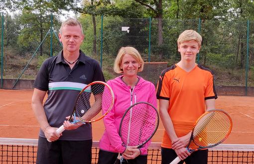 Schleifchenturnier der Tennisfreunde Blau-Rot Wissen