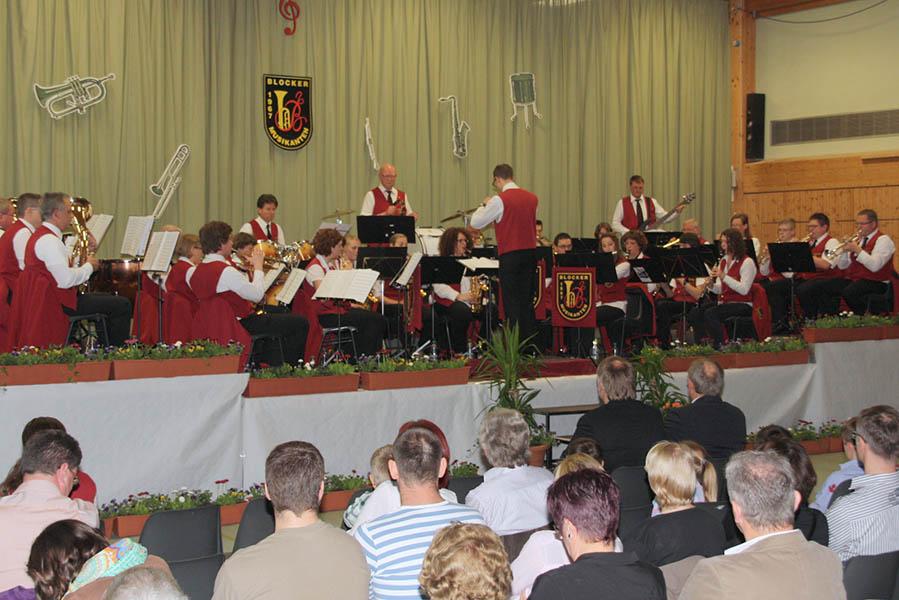 Blocker Musikanten feiern 50. Geburtstag