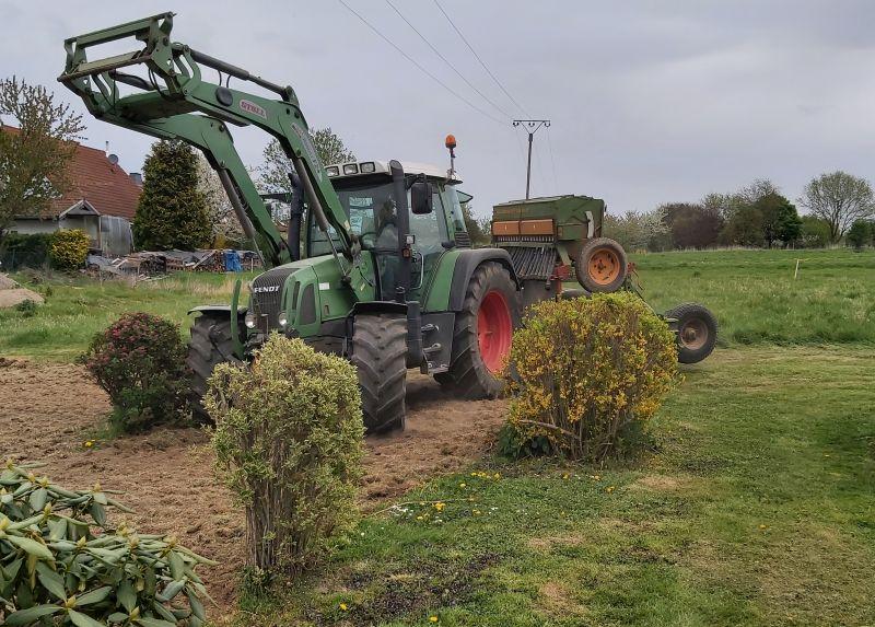 Eine große Blumenwiese entsteht in Caan