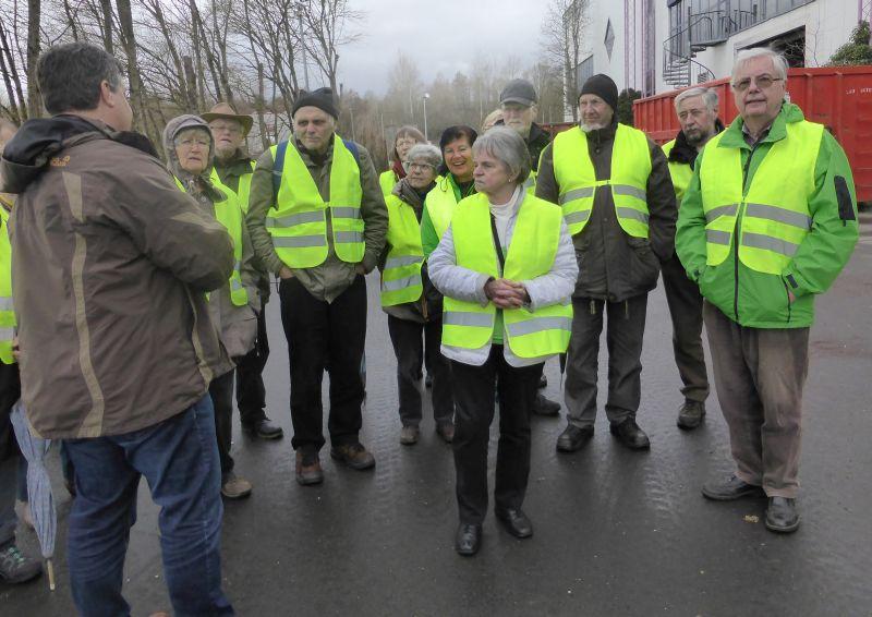 Westerwaldverein Bad Marienberg wanderte zum Müll