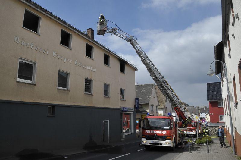Wohnhaus in Nentershausen brannte