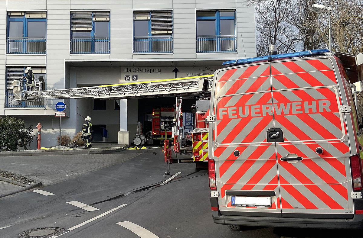 Feuer auf Covid Station