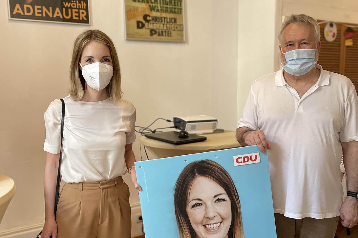 CDU Unkel eröffnet Bürgertreff in der Innenstadt