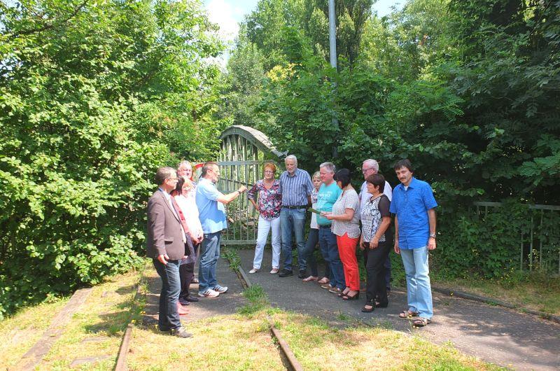 Unendliche Geschichte der Eisenbahnbrücke Segendorf