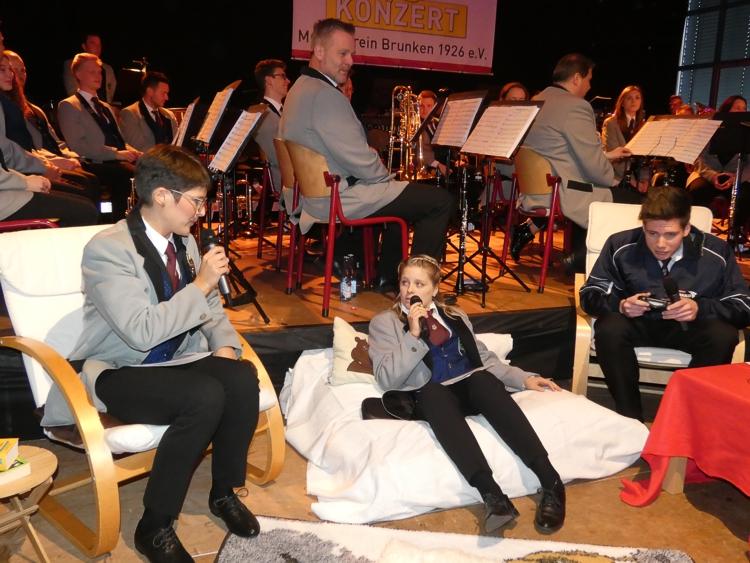 Musikverein Brunken entführte in die Welt der Filmmusik
