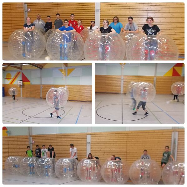 """""""Bubble-Soccer"""" – Fußball einmal ganz anders"""