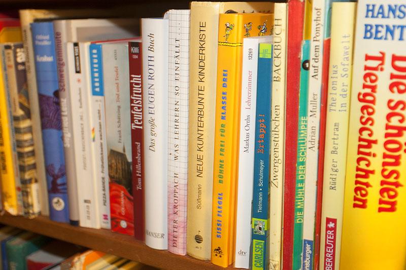 Autoren der Schreibwerkstatt Kunterbunt lesen