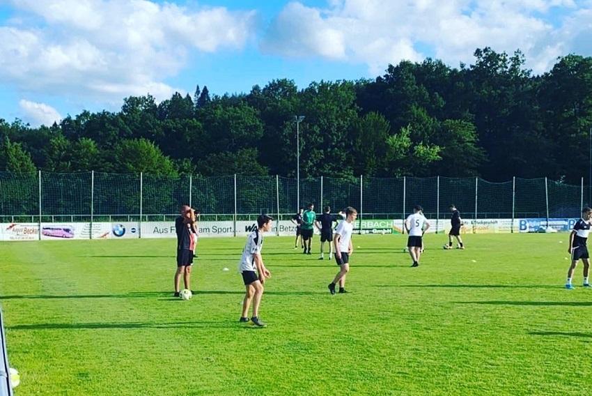 Training auf dem Bühl (Foto: SG 06 Betzdorf)