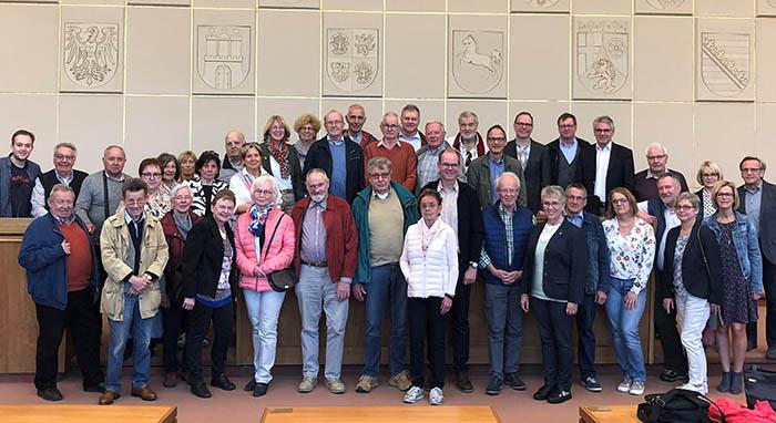 Tagestour des CDU Gemeindeverbands Rengsdorf-Waldbreitbach