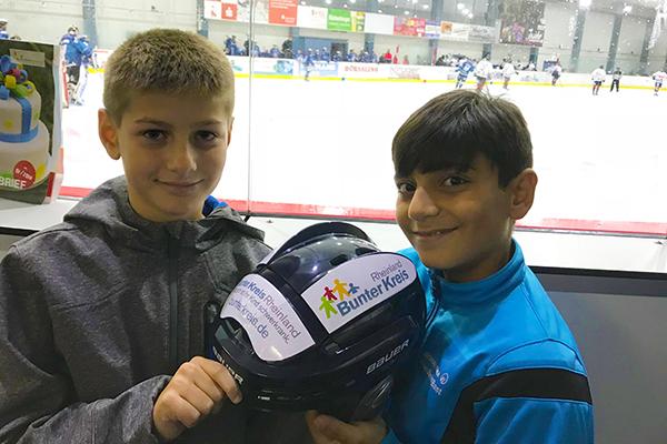 Eishockey Club widmet Saison dem Bunten Kreis Rheinland