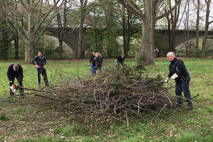 Bürgerpark Unkel: Interessengruppen nehmen Arbeit auf