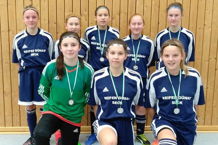 C-Juniorinnen JFV Oberwesterwald Vize-Rheinlandmeister im Futsal