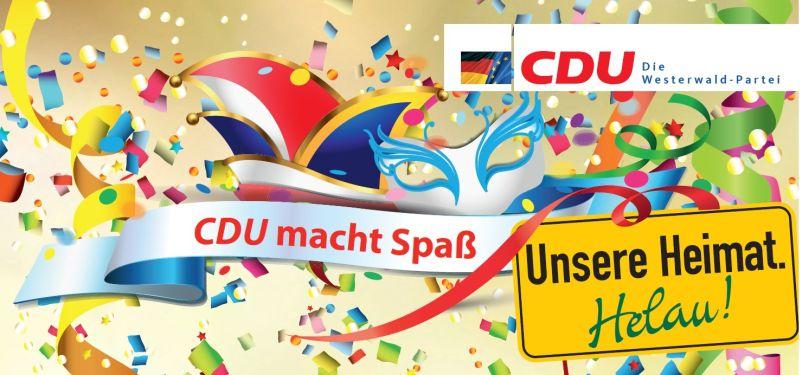 """3. Karnevalsveranstaltung """"CDU macht Spaß"""" in in Herschbach/OWW"""