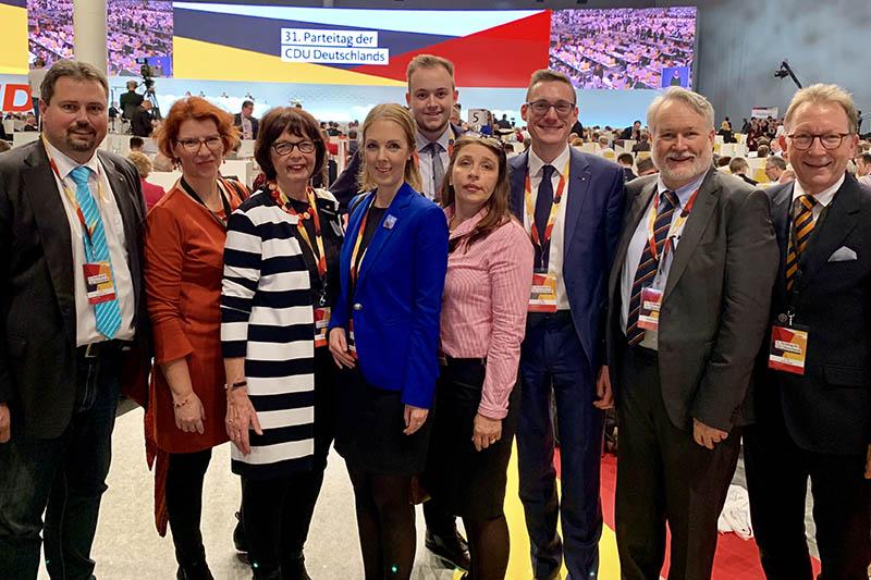 Vier Delegierte aus Kreis Neuwied haben in Hamburg mit entschieden