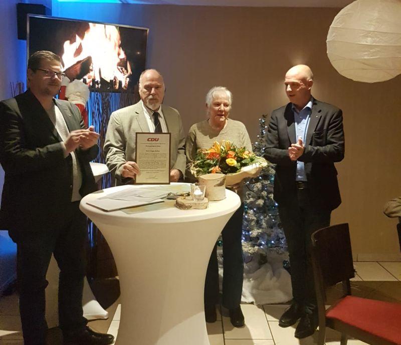 CDU Windhagen verleiht Ehrenamtspreis 2018