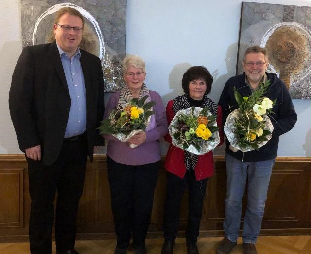 Mitgliederehrungen bei der CDU Herdorf
