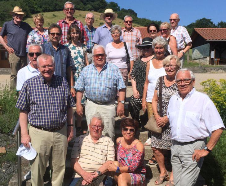 Mit der Senioren Union auf den Spuren der Römer
