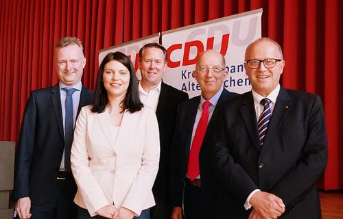 CDU-Kreisparteitag: Michael Wäschenbach ist neuer Kreisvorsitzender