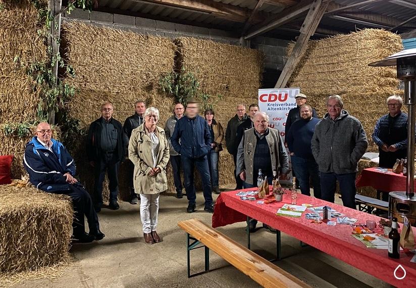 CDU Ortsverband Wildenburger Land diskutierte über Photovoltaik