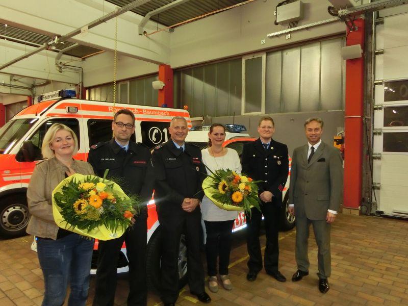 Neue Wehrführung in der Stadt Ransbach-Baumbach