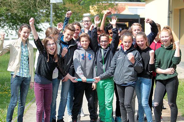 Leichtathletik: CSS-Jungs siegen beim regionalen Vorentscheid