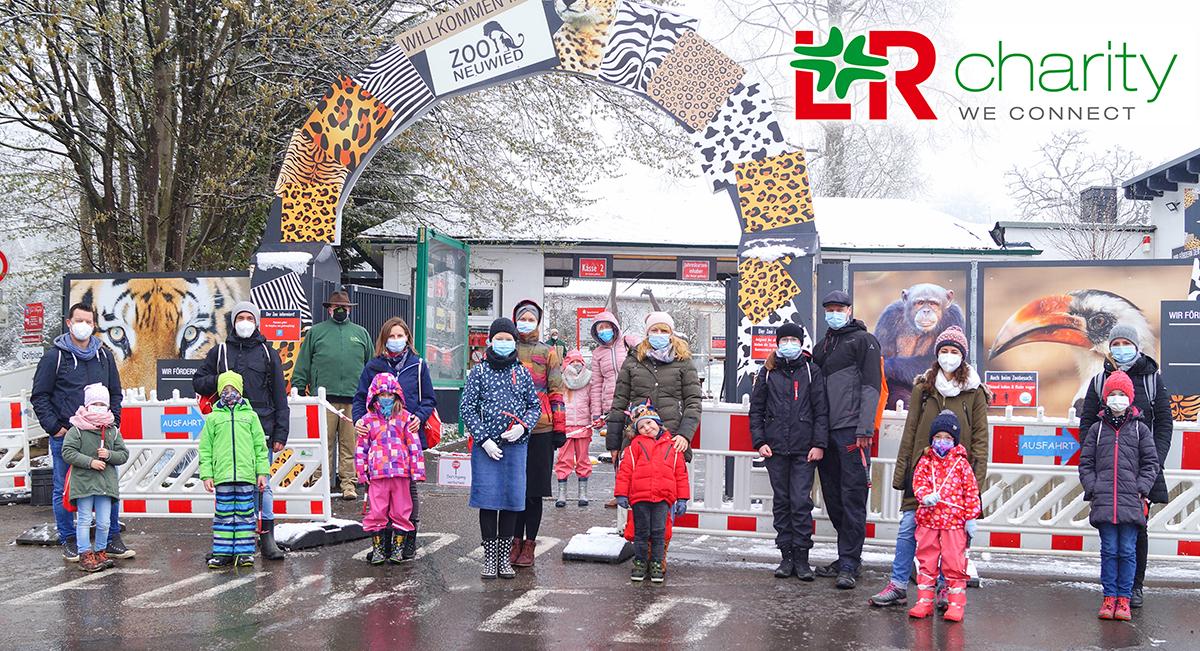 Großzügige Spende von L&R für den Zoo Neuwied