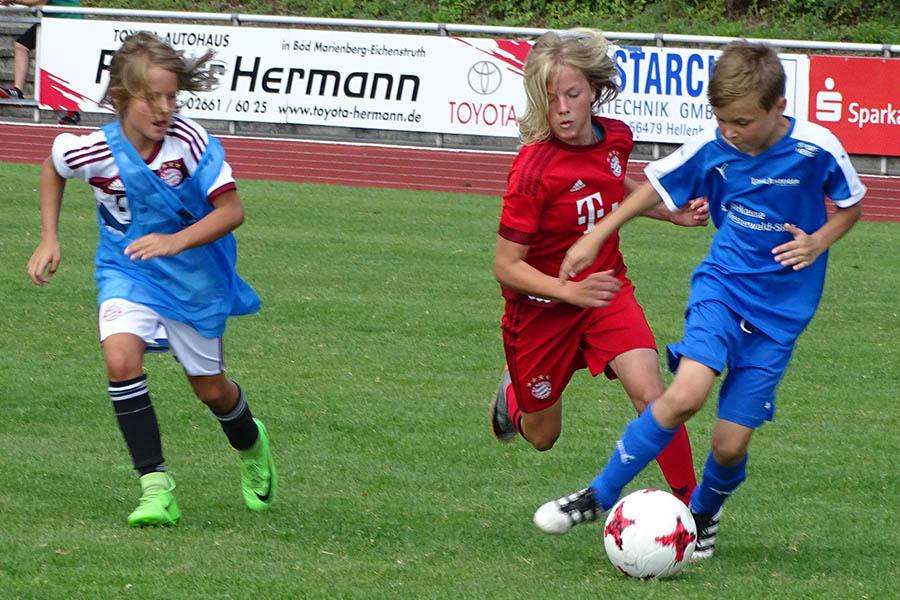 Fußball-Ferien-Camp des Fußballkreises war wieder Renner