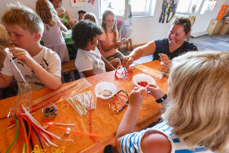 Campingseelsorge bietet Kindern tolles Ferienprogramm