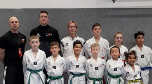 Sporting Taekwondo Altenkirchen dominiert bei Christmas Open in Br�hl