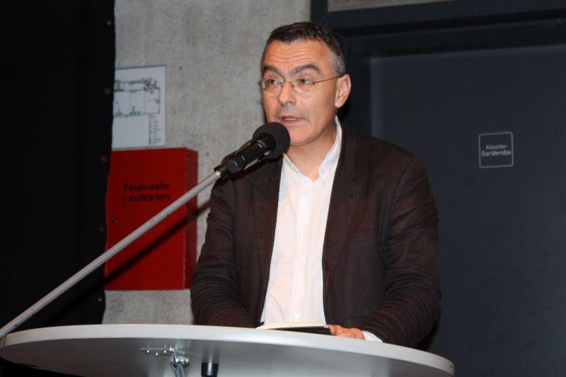 Gro�e T�uschung des IS: Christoph Reuter sprach im Kulturwerk