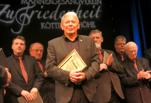 40 Jahre Chorleiter auf der K�ttingerh�he: Ein Abend f�r Clemens Br�cher