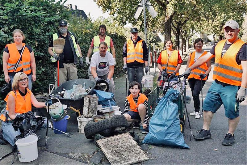 Cleanup-Day-Bilanz: OB lobt ehrenamtliches Engagement