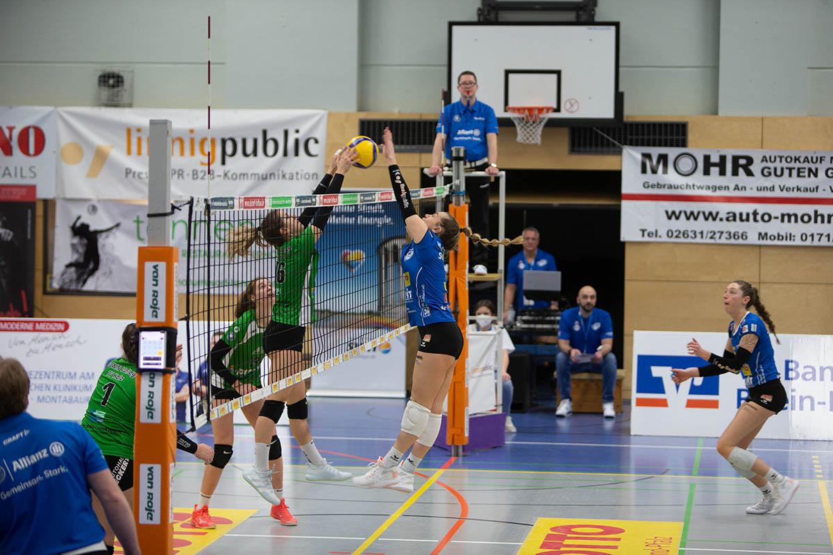 Volleyball: Arbeitssieg des VC Neuwied über den TV Holz