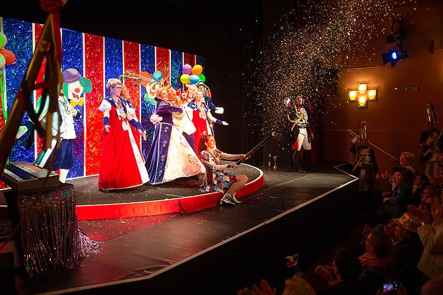 Premiere Karnevalsrevue im Schlosstheater Neuwied ein voller Erfolg