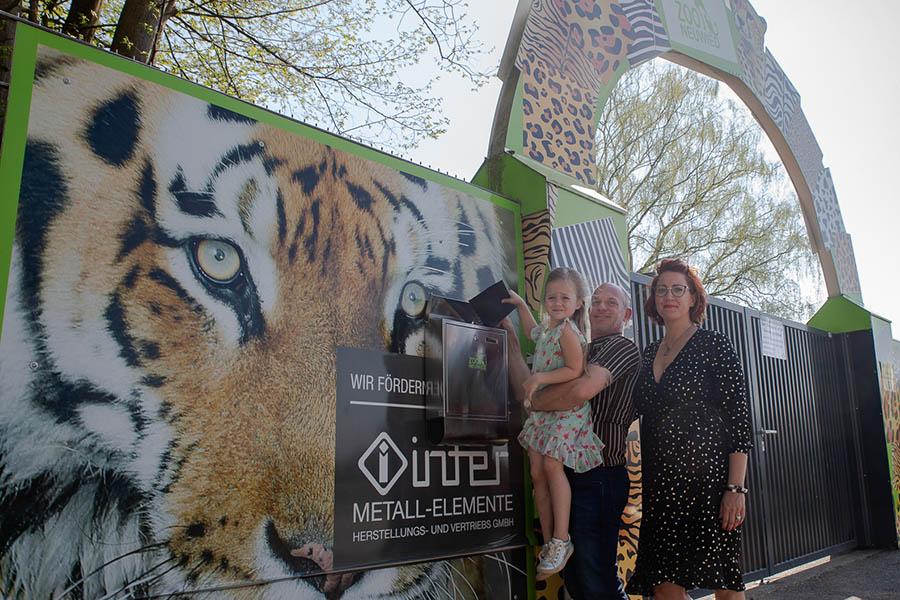 Klara hat ein großes Herz für Tiere und sammelt für Zoo Neuwied