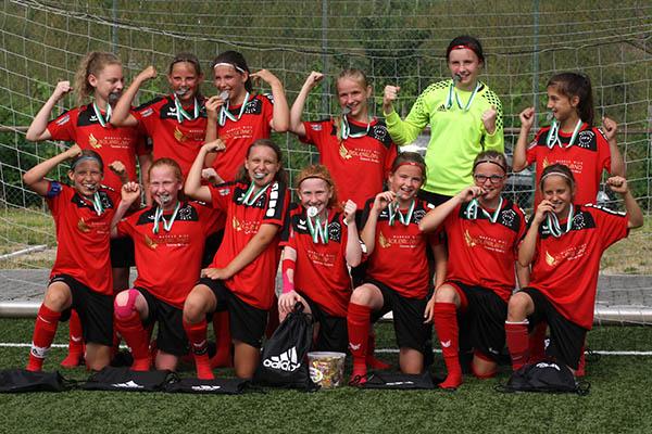 JFV Oberwesterwald D-Juniorinnen sind Rheinlandmeister