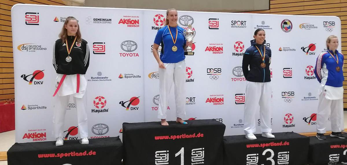 Karate: Samira Mujezinovic ist Deutsche Vizemeisterin