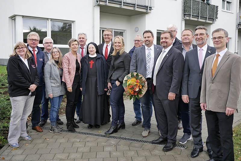 Rotes Kreuz weiht neues Service-Wohnen in Asbach ein