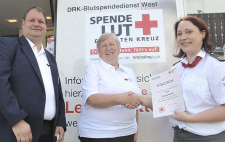 DRK Stahlhofen-Daubach: Mit 60 Jahren im besten Alter