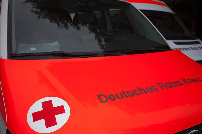 Verkehrsunfall mit schwerverletzter Person in St. Katharinen