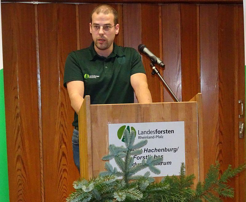 Abschlussfeier im Forstlichen Bildungszentrum Hachenburg