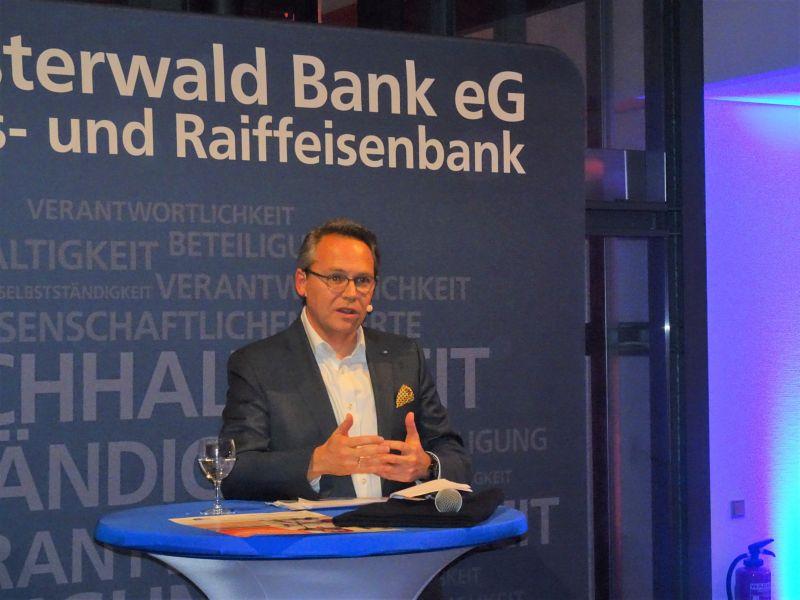 Empfang der Westerwald Bank zum Weihnachtsmarkt Altenkirchen